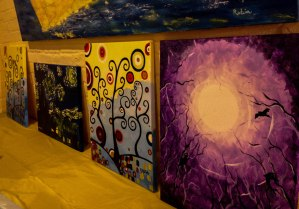 Sassa's previous art class works. I wish I could have been there for ALL of them!