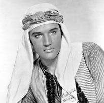 Apr 03, 1965; Hollywood, CA, USA; Actor ELVIS PRESLEY a Johnny Tyronne star in the musical comedy 'Harum Scarum directed by Gene Nelson. Mandatory Credit: Photo by Metro Goldwyn Mayer/ZUMA Press. (©) Copyright 1965 by Courtesy of Metro Goldwyn Mayer