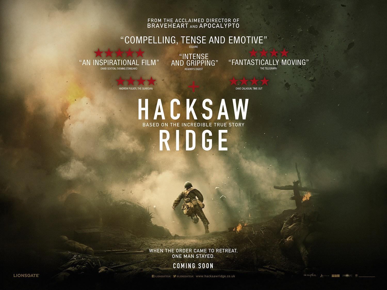 Movie Hacksaw Ridge 2016 Oscars Thoughts And Ponderances