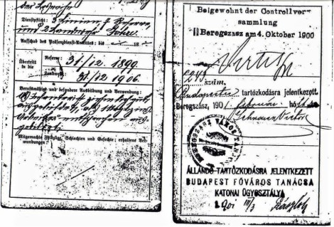 Taraczkozy Military Pass Book 2